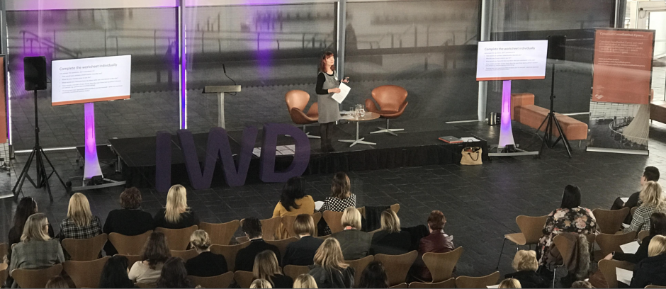 International Women's Day, Cardiff Senedd, Personal Branding
